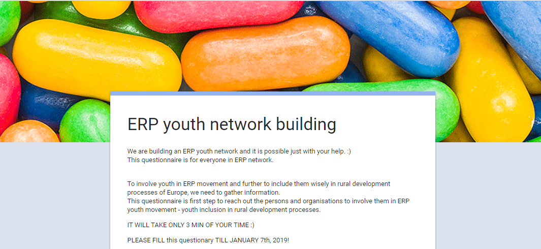 ERP youth network building